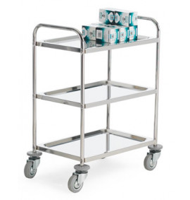 Light Duty Stainless Steel Shelf Trolleys
