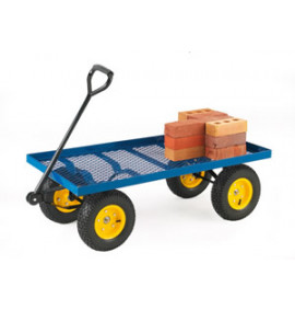 Platform Truck with Pneumatic Wheels
