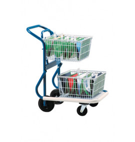 Chrome Plated Wire Trolley - MTE01S