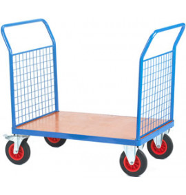 Fort Platform Trucks-Plywood Deck with Mesh Sides & Steel Frame