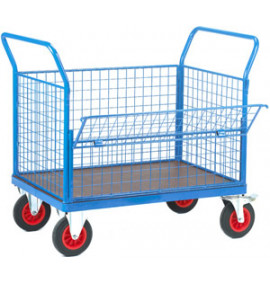 Fort Platform Trucks-Phenolic Unit with Mesh Sides & Steel Frame