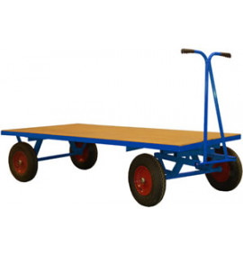 Hand Drawn Truck without Sides & Ends