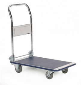 Zinc Coated Folding Trolley - GI008Y