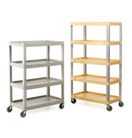 Four and Five Shelf Trolleys