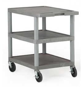 Grey Shelf Trolleys - Standard
