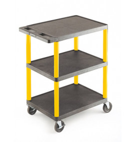 Service Trolleys - Coloured Legs