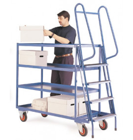 Order Picking Trolleys - Heavy Duty Model MS5722