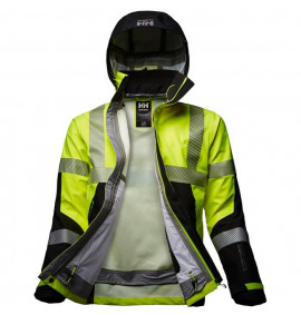 Helly Hansen Icu Hi-Vis 3 Layer Shell Jacket