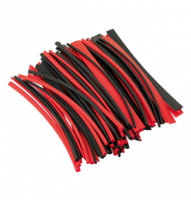 Heat Shrink Tubing Black & Red 200mm 1000pc