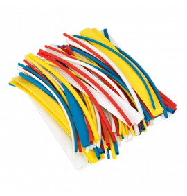 Heat Shrink Tubing Mixed Colours 200mm 1000pc