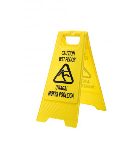 Portwest Euro Wet Floor Warning Sign