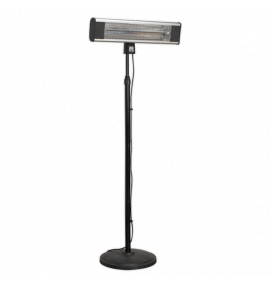 High Efficiency Infrared Patio Heater with Telescopic Floor Stand
