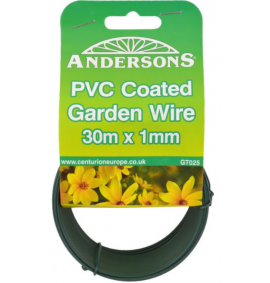 30m x 1mm PVC Coated Garden Wire