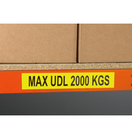 Magnetic and Self Adhesive Information Labels