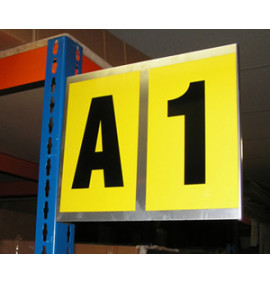 Magnetic and Self Adhesive Bay Markers