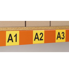 Magnetic and Self Adhesive Identification Tiles