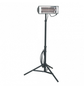 Infrared Quartz Heater with Telescopic Tripod Stand 1500W/230V