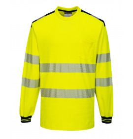 Portwest PW3 Hi-Vis Polo Shirt L/S