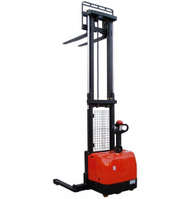 1400kg Fully Powered Straddle Pallet Stackers