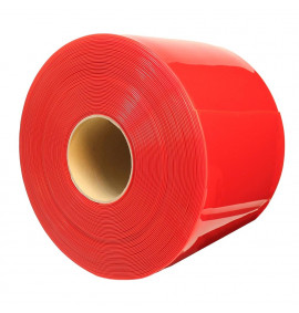Red Marker PVC Strip Curtain