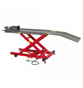 Motorcycle Lift Air/Hydraulic (365kg Capacity)