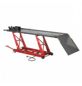 Motorcycle Lift Air/Hydraulic (454kg Capacity)