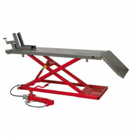 Motorcycle Lift Heavy-Duty Air/Hydraulic (680kg Capacity)