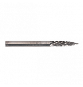 Micro Carbide Burr Pointed Tree 3mm Pack of 6