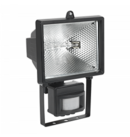 Floodlight with Wall Bracket & PIR Sensor Tungsten/Halogen C-Class