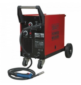 Professional Gas/No-Gas MIG Welder 210Amp with Euro Torch