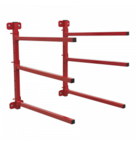 Wall Mounting Folding Bumper Rack