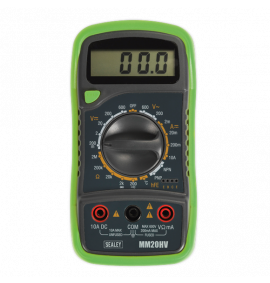 Digital Multimeter 8 Function with Thermocouple (Hi-Vis)