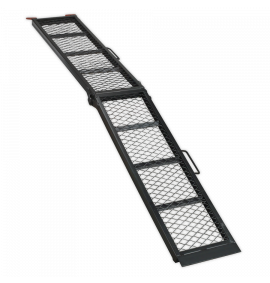 Steel Mesh Folding Loading Ramp