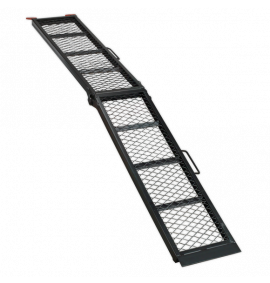 Steel Mesh Folding Loading Ramp (360kg Capacity)