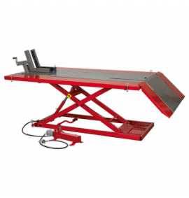 Mini Tractor/Quad/Motorcycle Lift - Air/Hydraulic (680kg Capacity)