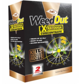Weedout Extra Tough Concentrate 2 x 80ml Sachets