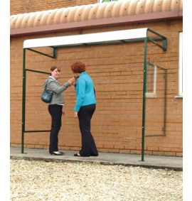 Wall Mounted Smoking Shelters