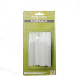 125mm Plant Labels with Pencil (Pack of 50)