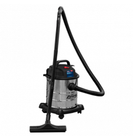 Vacuum Cleaner Wet & Dry 20ltr 1200W/230V Stainless Drum