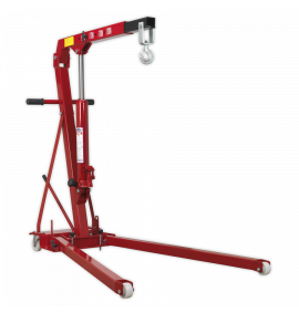 Folding Engine Crane 1tonne Low Profile