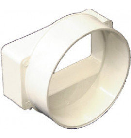 Round to Rectangle Female Adaptor - PA367P