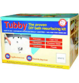 Tubby DIY Bath Resurfacing Kit - PA98P