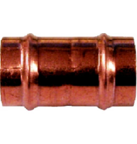 Solder Ring Copper Straight Fitting