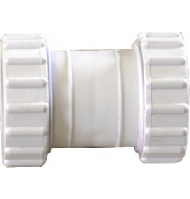 Plastic Compression Straight Coupling