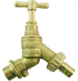 Garden Hose Tap with Double Check Valve - PA254L