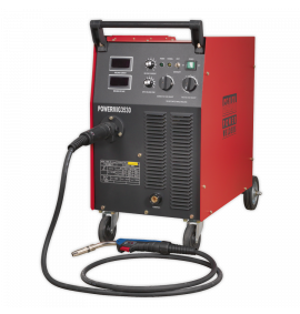 Professional MIG Welder 300Amp 415V 3ph with Binzel® Euro Torch