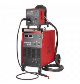 Professional MIG Welder with Binzel® Euro Torch & Portable Wire Drive