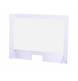Sneeze Screen, 600 x 1000mm, Pvc With Polypropylene Clear Window