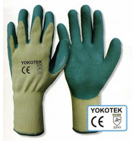 Green Grip Gloves (Pack-12 Pairs)
