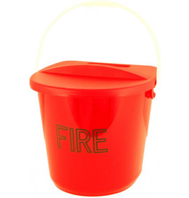 Fire Bucket & Lid - FBK